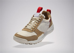 2017 Top Release Tom Sachs x Craft Mars Yard 2.0 TS Joint Limited Sneaker Calidad Original Natural Sport Red Maple Running Shoes desde fabricantes