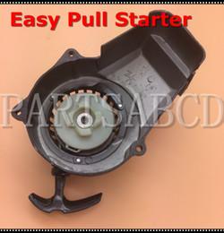 Wholesale Recoil Start - 2 Stroke Aluminum Recoil Pull Starter 47CC 49CC MINI ATV QUAD POCKET BIKE Easy Start