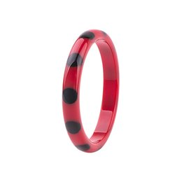 Wholesale Jewelry Young - GuanLong Wholesale Fashion Round Spot Resin Bracelets & Bangles For Young Women Party Jewelry