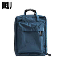 Wholesale Large Gray Handbag - WEIJU Men Travel Bags Waterproof Portable Handbag Traveling Shoulder Bag Large Capacity Luggage Duffle Bag bolsa de viagem