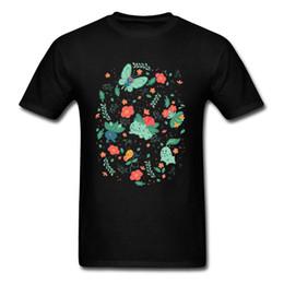In The Tall Grass Maglietta Uomo Maglietta Fiaba Maglietta Summer Story Maglietta Cartoon stampato Abbigliamento Cotone Tees Nero Camicie da