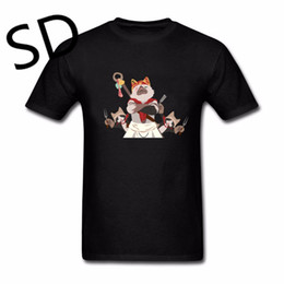 2019 поварские рубашки Dropshipping Monster Hunter World Meowscular шеф-повар футболка мужчины сжатия рубашка уличная camisetas hombre Tee топы скидка поварские рубашки