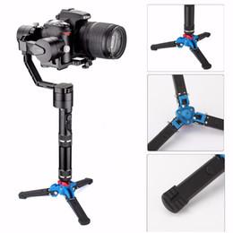 Dslr câmera suporte tripé on-line-EACHSHOT tripé monopé tripé de câmera suporte de câmera leve para zhiyun guindaste canon eos nikon sony fuji olympus tudo dslr