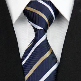 Clásico Traje de hombre Corbata Flacas Delgadas de seda estrecha Jacquard Corbatas tejidas Patrón de rayas Gravata Moda Corbata para los hombres 3 desde fabricantes