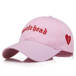 Wholesale adult flippers - Letter Embroidery Love Embroidery Golf Baseball Cap bone Men Women Snapback Caps Flipper Little Heart Love Sun Truck Hat gorras
