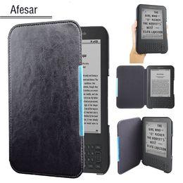 Amazon Kindle 3 3rd Gen Ereader için kapak Kitap kılıfı deri cep durumda manyetik kapanmış Kindle Klavye (3rd Gen) kılıfı nereden ipad3 akıllı kutu tedarikçiler
