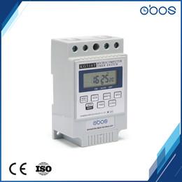 OBOS 240VAC temporizador programável interruptor do temporizador relé din rail com 10 vezes de ligar / desligar por dia intervalo de tempo definido 1min-168 H de Fornecedores de carros de quartzo