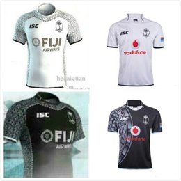 Wholesale Olympic Cup - 2018 world cup fiji Rugby jersey Sevens Olympic Shirt 17 18 19- Fiji 7's Jersey new seanson jersey fast shipping