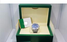 Noel hediyesi Lüks AAA Saatı erkek İzle 326934 Çelik Mavi Dial 42mm Saatler KUTUSU / KAĞITLAR H6 nereden