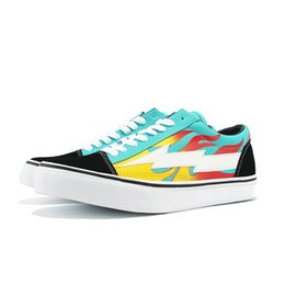 Wholesale pop shoes - Revenge X Storm Vans Old Skool Pop-up Store 2018 Athentic Canvas Mens Designer Sports Running Shoes for Men Sneakers Women Casual Trainers