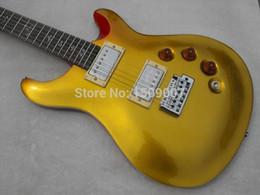 Manopole cinesi online-Nuovo arriva Chinese Metal Golden Top, manopola chiusa, chitarra elettrica corpo in mogano