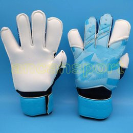 Wholesale check yellow - Jusdon Allround Latex without fingersave Soccer Professional Goalkeeper Gloves Goalie FootballBola De Futebol Gloves Luva De Goleiro
