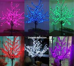 Wholesale led red candle bulb - LED Christmas Light Cherry Blossom Tree 1.5m 5ft Height 480pcs LED Bulbs 110 220VAC Rainproof fairy garden decor