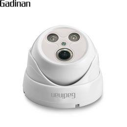 GADINAN H.265 / H.264 2.0MP 1080P 1.7mm Objectif Grand Angle Fisheye Panoramique Caméra IP Intérieur ONVIF Motion Détecter POE En Option ? partir de fabricateur