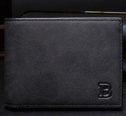 Wholesale National Money - small wallet Men Leather Thin Wallet Male Slim Man Card purse Money Bags Luxury men wallet European American fashion vintage