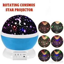 2019 stern sternenhimmel lichter Sterne Sternenhimmel LED Nachtlicht Projektor Luminaria Moon Neuheit Tisch Nachtlampe Batterie USB Nachtlicht für Kinder günstig stern sternenhimmel lichter