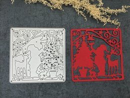 Wholesale Scrapbook Christmas - Christmas Shape Scrapbook Dies Metal Cvtter Etching Stencil Lase Cutter Die DIY arts and crafts, greeting cards Decorations