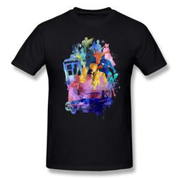 Collage T-shirt Mens Mens 100% Coton Multi Fandom Collage Mens T-shirt O-Cou Blanc À Manches Courtes Grande Taille Personnalisé T-shirt ? partir de fabricateur