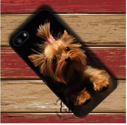 abdeckung iphone 4s hund Rabatt Freier Verschiffen-Handy-Hund YORKSHIRE TERRIER Welpen-Abdeckungsfall für iPhone 4 4s 5 5s SE 5c 6 6s 7 8 Plus X Samsung-Anmerkung 8 s9 plus Abdeckung