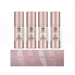 Wholesale gold battle - O.Two.O Rose Gold Battle Foundation Liquid Base Primer Moisturizing Natural Concealer For Face Oil-Control Waterproof Makeup