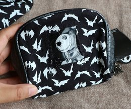Wholesale Jack Nightmare Before Christmas Cartoon - Cartoon The Nightmare Before Christmas Jack style for Cute Bag with metal dog Figure