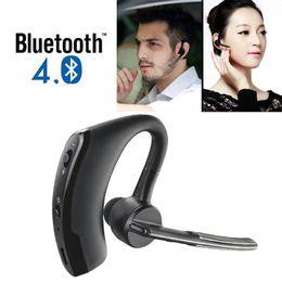 Wholesale work bluetooth headset - Bluetooth 4.0 Stereo Wireless Business Work Headset Earphone For Phone Samsung