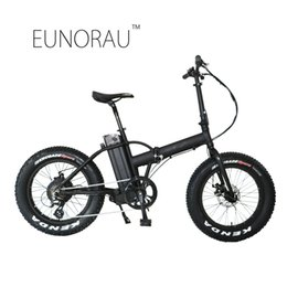 Wholesale drop seats - Drop shipping USA CANADA High Speed Fat tire electric bike 20 inch folding electric bicycle