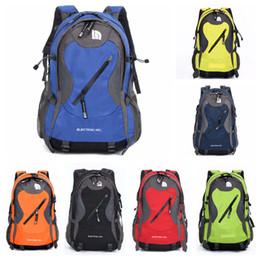 Wholesale casual college bags - 7 Colors The North & F Backpacks Teenagers Bags Casual Knapsack Hiking Camping Backpacks Waterproof Racksacks Travel Bags Multi Pockets