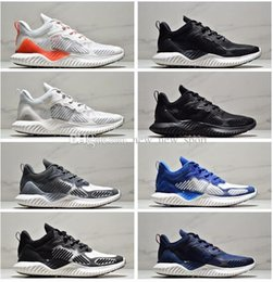 Venta barata AlphaBounce M V3 Alpha rebote 3 zapatos para correr de calidad superior 3s Negro Blanco Azul Hombres Mujeres Aire Libre Zapatillas de deporte Tamaño 36-45 desde fabricantes