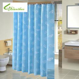 Hohe Qualität Wasserdicht Mittelmeer Blau Druck Benutzerdefinierte  Duschvorhang Mit Haken Bad Vorhänge Für Hauptdekorationen