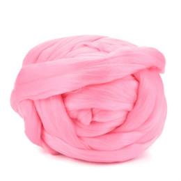 2019 lace stoff geschenk taschen Wolle Garn Super Soft Sperrigen Arm Strickwolle Roving Schal SweaterCrocheting DIY Super Grob Garn #Zer