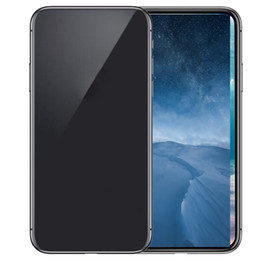 "Wholesale Film X Blacks - Wireless Charging Goophone X Quad Core 3GB RAM 32GB ROM 5.5""IPS Screen Red Film unlock Mobile phone"