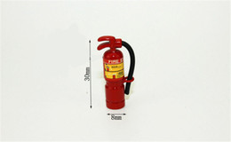 Wholesale Extinguisher Fire - 1:12 Scale Red Fire Extinguisher Dolls House Miniature Accessories