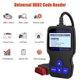 Software de lector de código de coche online-Autophix OM123 OBD2 detección de fallas del motor del coche instrumento de diagnóstico OBD2 que conduce el código de decodificación de la computadora que mata el software Code Reader