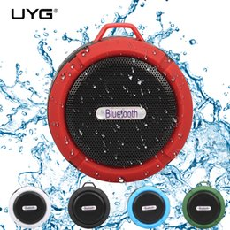 Wholesale wireless speakers blue tooth - wireless bluetooth speaker waterproof shower receiver camping portable speaker support TF card blue tooth subwoofer for phone