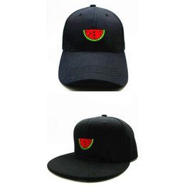 8fa4325cb01 LDSLYJR 2018 red watermelon embroidery cotton Baseball Cap hip-hop cap  Adjustable Snapback Hats for kids and adult size 130