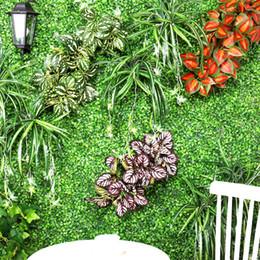 all'ingrosso per piante artificiali Sconti 1 Bouquet real touch Erba verde Piante artificiali per fiori di plastica Casalinghi Negozio Dest Rustico Decorazione da tavola Pianta di trifoglio Commercio all'ingrosso