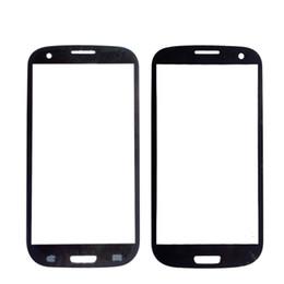 Замена переднего стекла галактики s3 онлайн-SZHAIYU A+ Верхняя замена ЖК-внешний объектив стекло передняя панель экрана для Galaxy S3 i9300 переднее стекло + комплекты