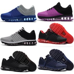 Wholesale Lowest Brand Max - 2017 Brand Plastic KPU Sports Shoes Best Sale Cheap Running Shoes For Men Maxes High Quality Outdoor Sneakers