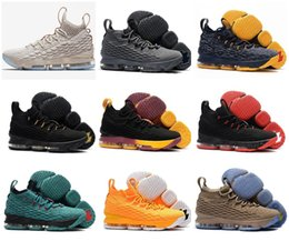 Wholesale newest low cut basketball shoes - (With Box) Wholesale Men Top Quality Newest Ashes Ghost 15 Basketball Shoes Shoes Arrival Sneakers 15s Mens Casual Shoes 15 Size 40-46