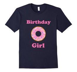 Wholesale Xl Girls Birthday - Birthday Girl Doughnut Shirt for kids