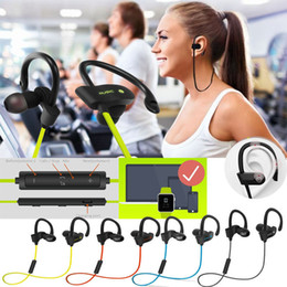Wholesale Sport Phones - For 56S Sports In-Ear Wireless Bluetooth Earphone Stereo Earbuds Headset Bass Earphones with Mic for iPhone 6 Samsung Phone