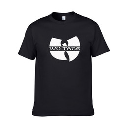 Wholesale Wu Tang Clan T Shirts - New Print Letter T-Shirt Men Women Wu Tang Clan Casual Funny Shirt Tees Tumblr Top Hip-hop Hipster T Shirt plus size