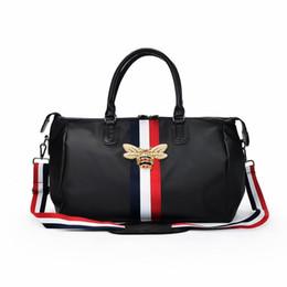 GYKZ Design de Luxo Grande Capacidade de Viagem Duffle Bag Para Mulheres Homens Portátil Esporte Ginásio Saco de Aptidão À Prova D 'Água Ombro HY115 de