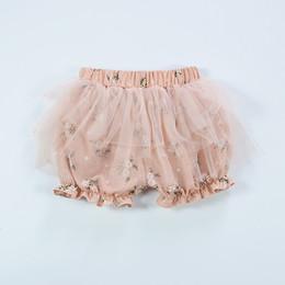 Wholesale Thin Korean Girls - Summer Korean Baby Girls Gauze Shorts Mesh Floral Printed Infant Pants Breathable Thin Shorts Factory Direct Sales