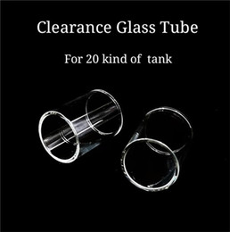 smok tfv4 mini Rebajas Nuevo tubo de vidrio Tubo de vidrio de repuesto de Pyrex para SMOK TFV8 Big Baby Smok TFV8 Bebé Bestia TFV4 TFV4 mini TFV12 Tanque DHL gratis