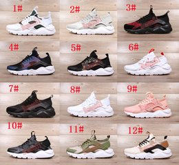 Wholesale Huaraches Basketball Shoes - 12 Color Men air Running Shoes Huaraches Sports Shoes High Quality Air woman huarache 4 Basketball Shoes Huraches ultra Outdoors Sneakers