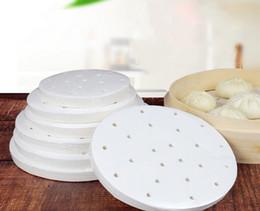 Canada 4000pcs de nouveau papier de libération d'huile de silicone à la vapeur. 16 modèles à base de papier cuit à la vapeur de légumes à feuilleté à la vapeur Offre