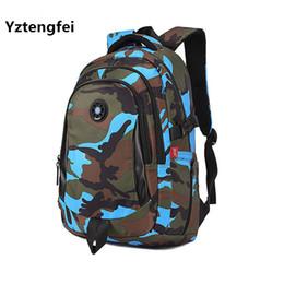 c581998d75d9c China YZtengfei Kleine Mode Camouflage Kind Rucksack Tasche Schultaschen  Reise Rucksack Taschen Für Coole Jungen Und