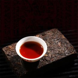 Wholesale Brick Tea - Puerh Tea 100g Brick Made In 2008 Ripe Pu er Tea Oldest Puer Tea Ancestor Antique Honey Sweet Dull-red Pu'er Ancient Tree